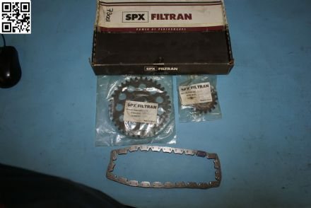 1962-1998 Timing Chain Kit Small Block Chevrolet 350 SPX Filtran 54000, Box H, New